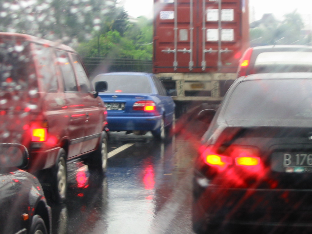 Rainy Traffic