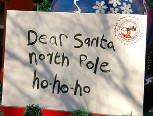 Letters to Santa Clause