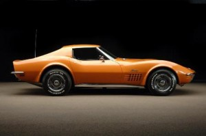 Ontario Orange 1972 Corvette