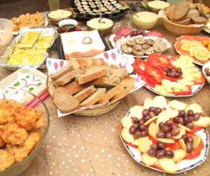 Healthy Party Food - Photo: Alex Bruda