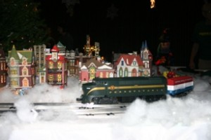 TRANSPORTATION MUSEUM OF THE WORLD® CREATES WINTER WONDERVILLE 2011